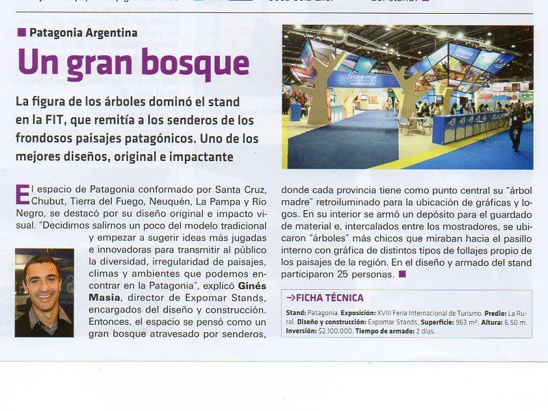 NOTA REVISTA FERIAS & CONGRESOS - NOV 2013