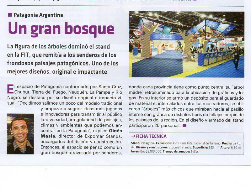 Nota en revista Ferias y Congresos