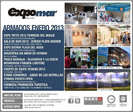 Projects  2013 – EXPOMAR