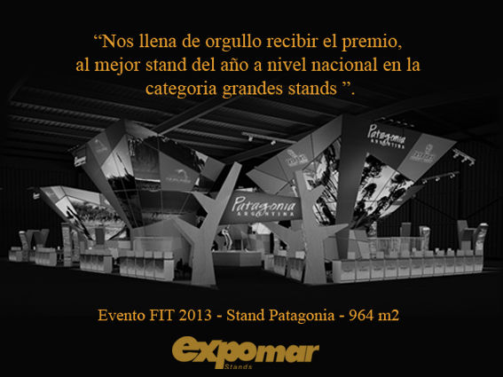 FIRST PRIZE – THE BEST STAND 2013!