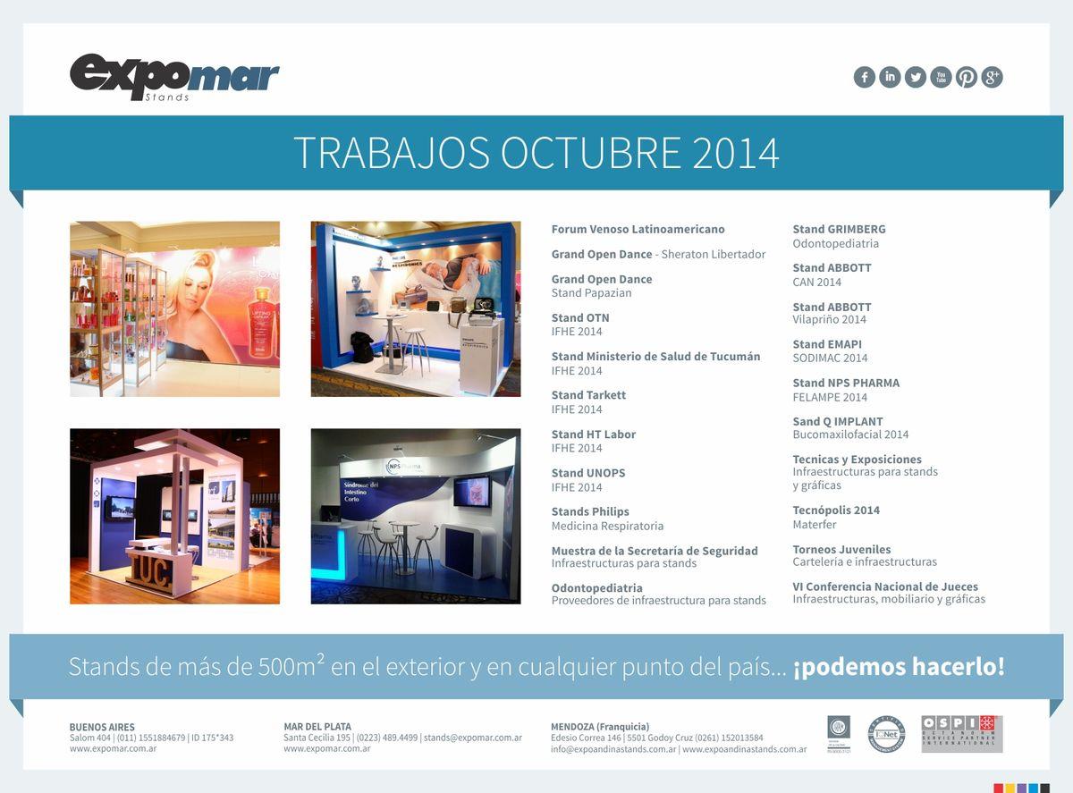 TRABAJOS OCTUBRE 2014