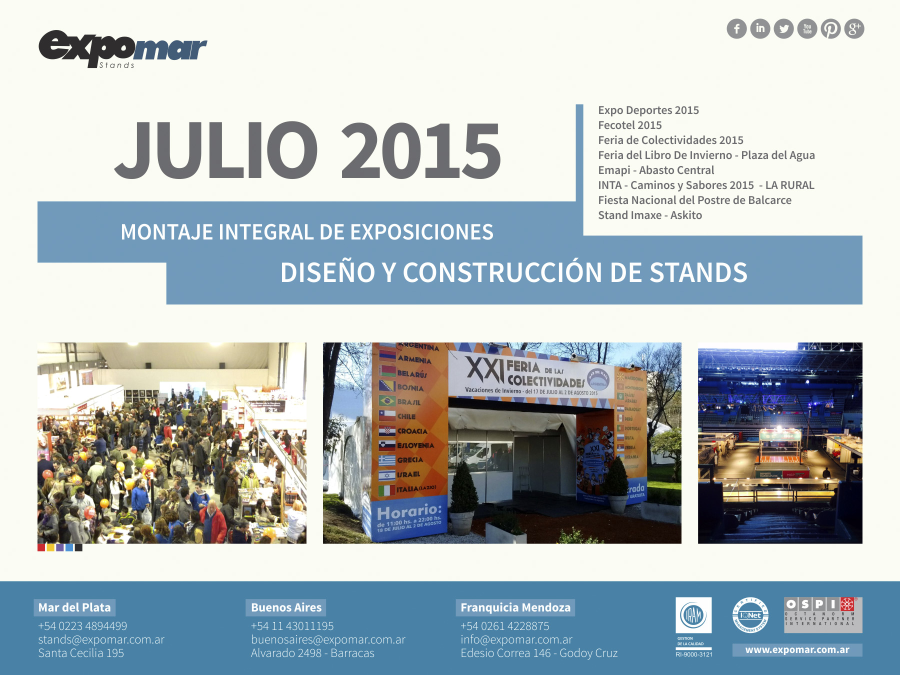 Projects  July 2015