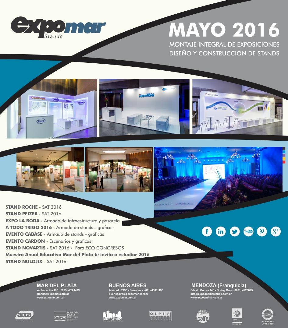 Resumen de trabajos – mayo 2016