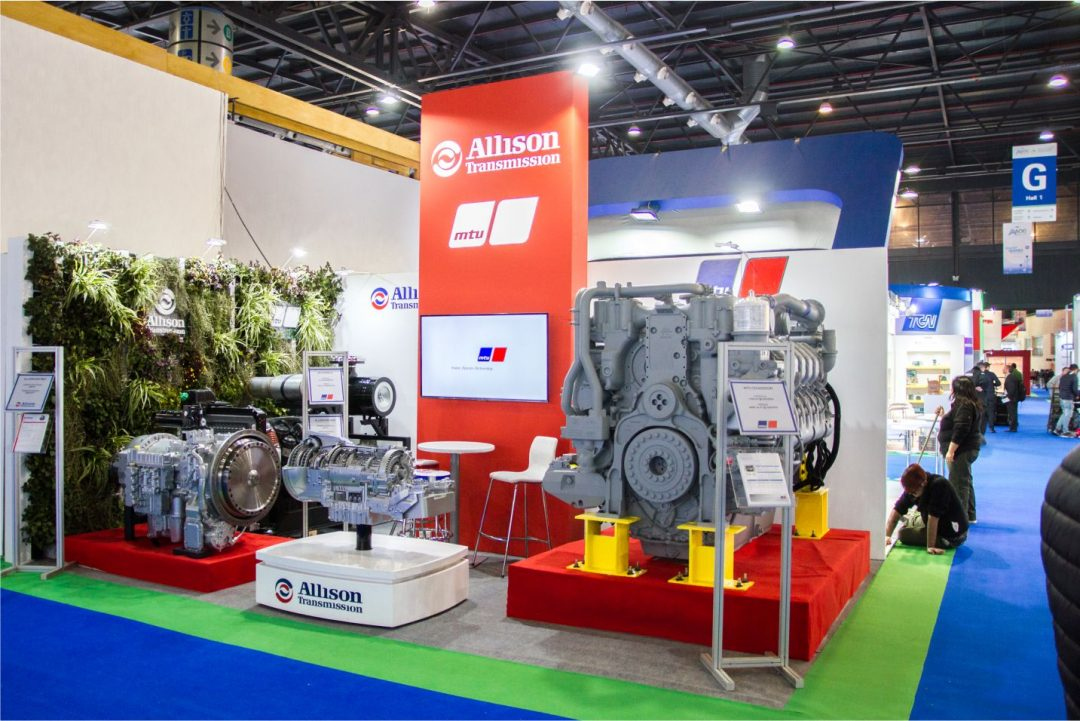 STAND ALLISON  – AOG